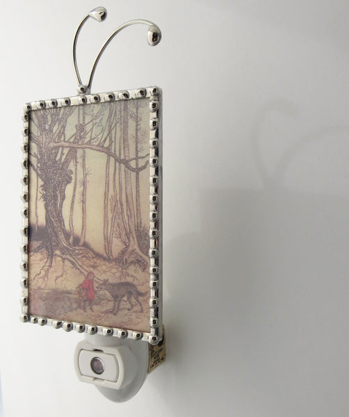 Side view of Night light Little Red Ridinghood  by Pretty Picture Gifts