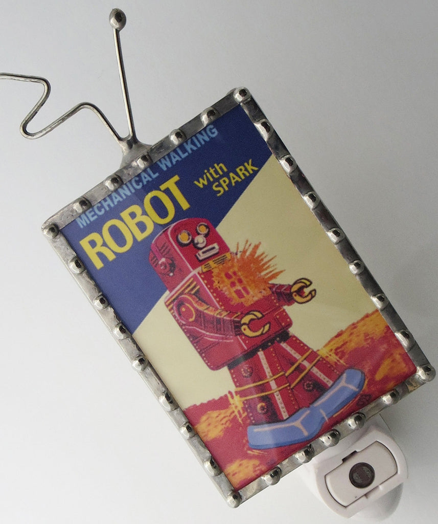 Sparky the Robot Night Light by Pretty Picture Gifts