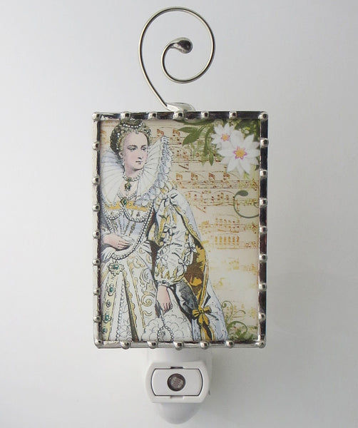 Marie Antoinette Queen of France Night Light Lighting by Pretty Picture Gifts