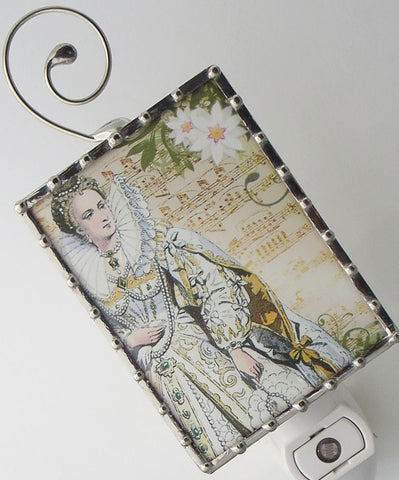 Marie Antoinette Queen of France Night Light by Pretty Picture Gifts