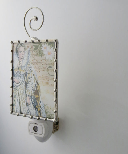 Marie Antoinette Queen of France Night Light Fixtures by Pretty Picture Gifts