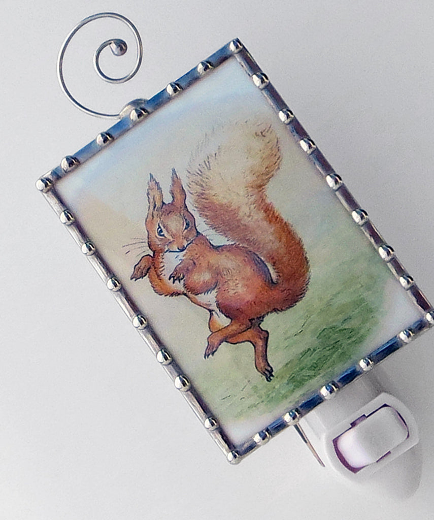 Squirrel Nutkin Nursery Lighting Night Light