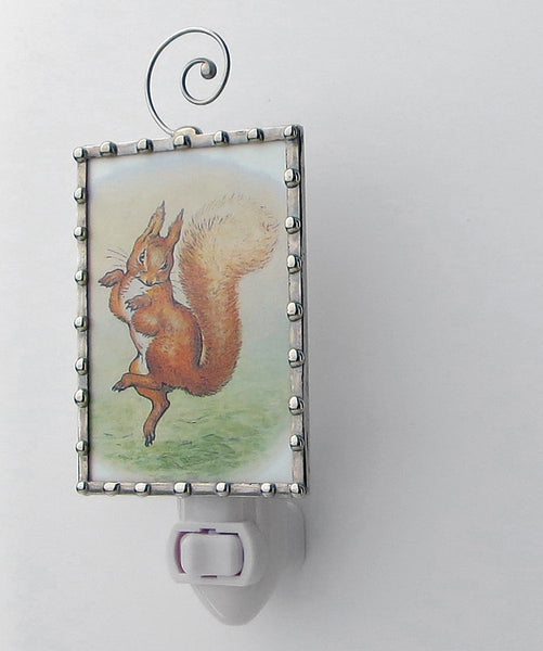 Fancy Nursery Lighting with Squirrel Nutkin
