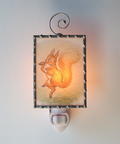 Baby Shower Gift Squirrel Nutkin Nursery Lighting Night Light