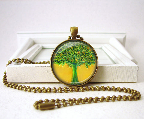 Tree of Life Penant Jewelry Necklace