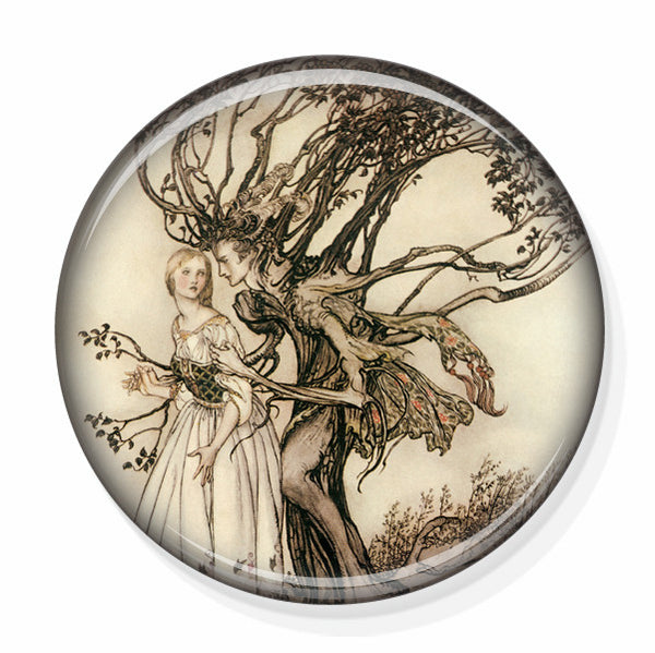 Brothers Grimm Small Mirror by Pretty Picture Gifts