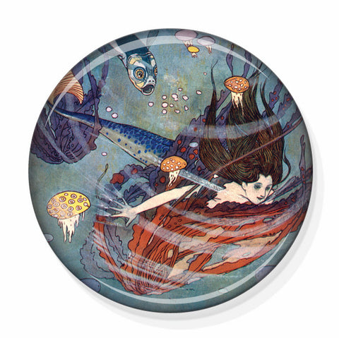 Japanese Anime Mermaid Pocket Mirror