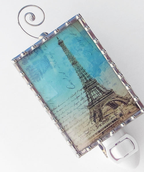 Paris Eiffel Tower Night Light by Pretty Picture Gifts
