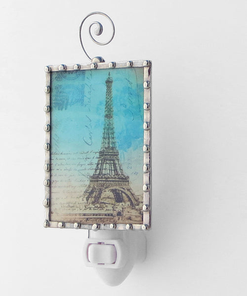 Unique Paris Eiffel Tower Night Light by Pretty Picture Gifts