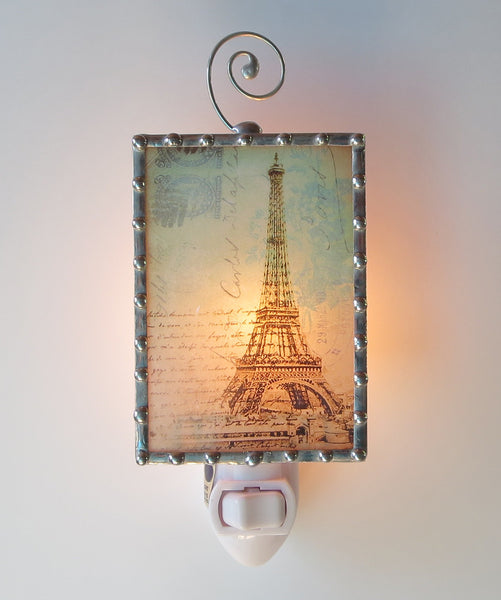 Fancy Paris Eiffel Tower Night Light by Pretty Picture Gifts