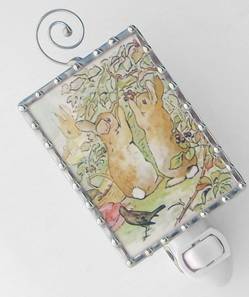 Peter Rabbit and Brother Beatrix Potter Night Light by Pretty Picture Gifts