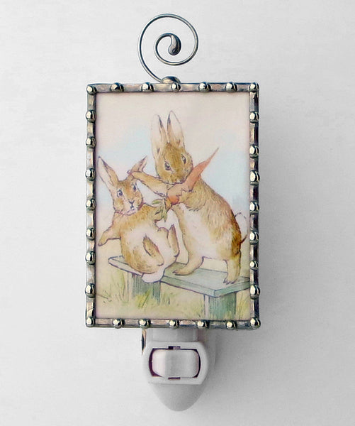 Peter Rabbit Beatrix Potter Unique Night Light by Pretty Picture Gifts