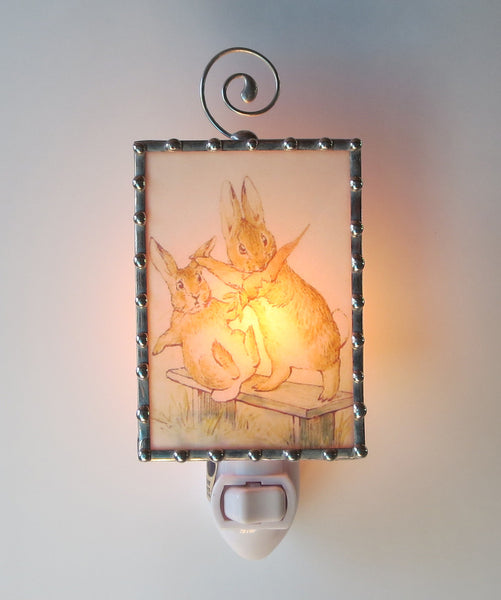 Peter Rabbit Beatrix Potter fancy Night Light by Pretty Picture Gifts