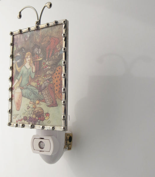 Handmade Farmers Market Night Light Fixture by Pretty Picture Gifts