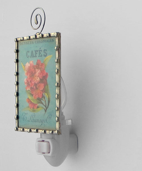 Pink Flower Night Light bedroom lighting by Pretty Picture Gifts