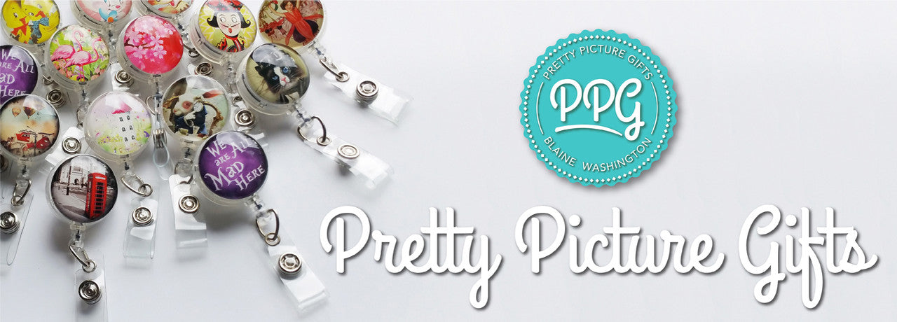 Pretty Picture Gifts Badge Reels