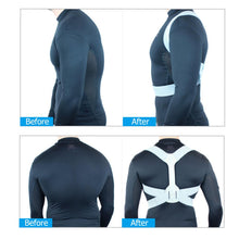 Load image into Gallery viewer, Adjustable Back Posture Corrector Brace