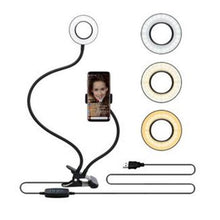 Load image into Gallery viewer, Professional Portable LED Light with Cell Phone Holder Storioh