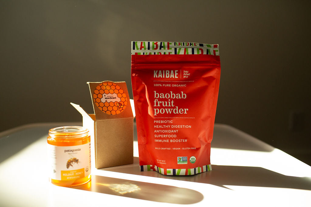 Blend Baobab and Honey for a tasty  Immune boost, loved by children