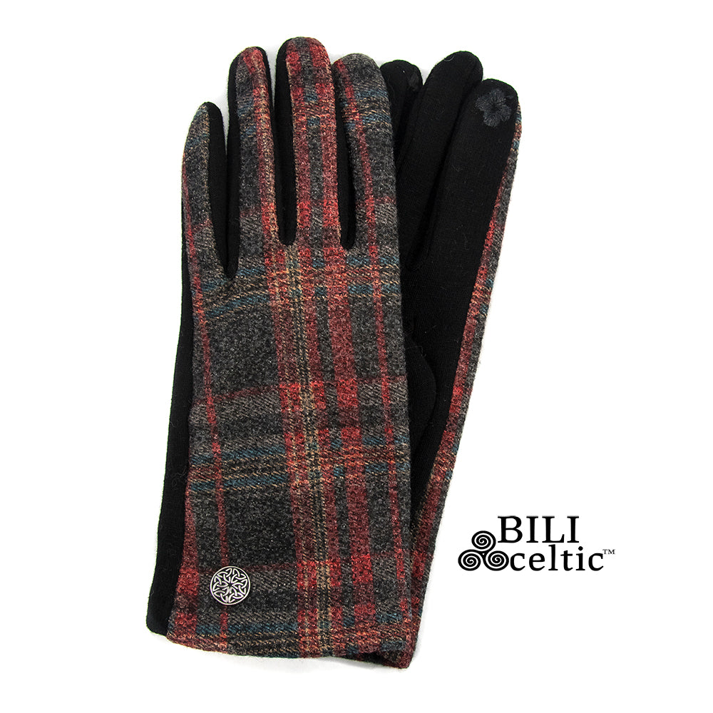 Celtic Plaid Gloves