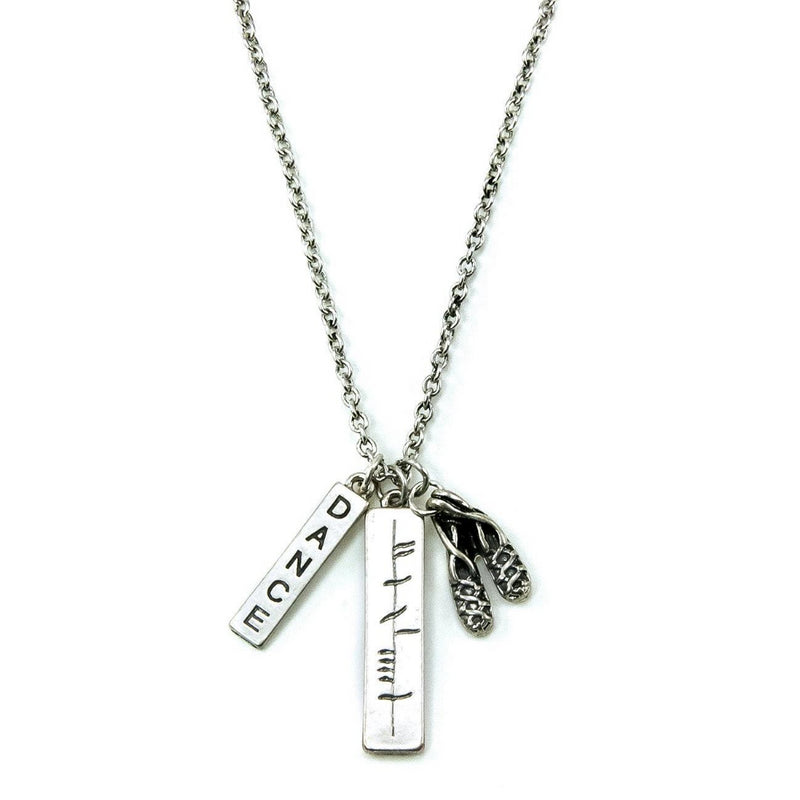 Ogham Irish Dance Necklace