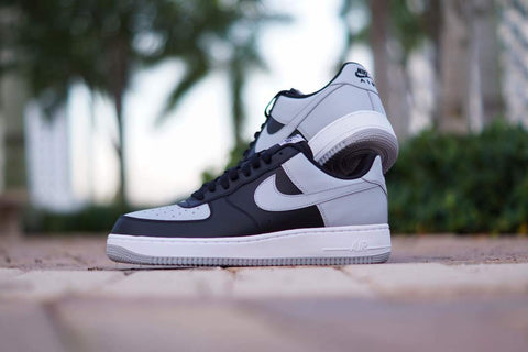 Nike Air Force 1 Black/White/WolfGrey 820266-008
