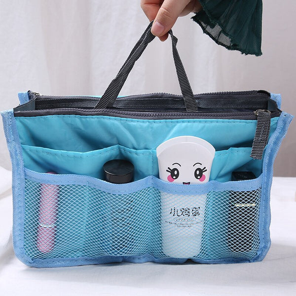 . Travel makeup bag