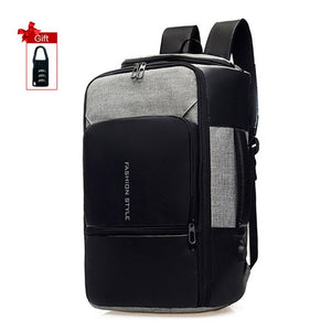 17 inch Waterproof Anti Theft Laptop Backpack with USB