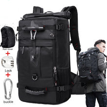 Load image into Gallery viewer, 50L Waterproof Travel Backpack for Men