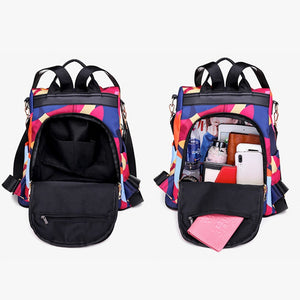 Waterproof Oxford Anti-theft Backpack