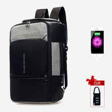 Load image into Gallery viewer, 17 inch Waterproof Anti Theft Laptop Backpack with USB