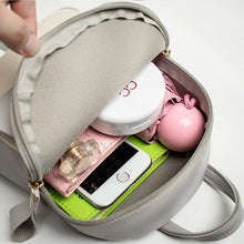Load image into Gallery viewer, Leather Mini Backpack for Women
