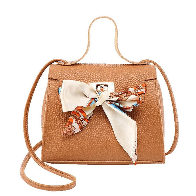 Crossbody Bag With Ribbon