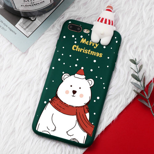 iPhone Christmas Case - Polar Bear - for All Models