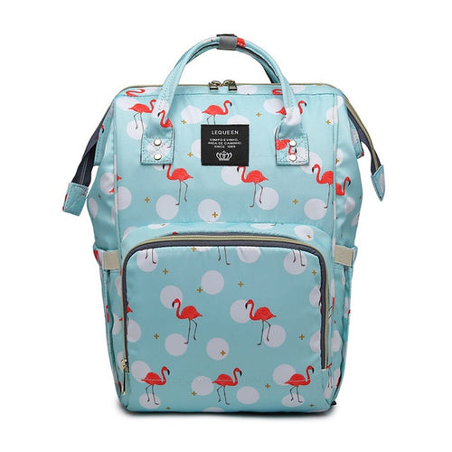 Waterproof Diaper Bag Backpack with Print