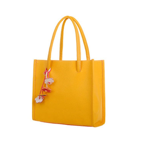 Elegant Leather Tote Bag