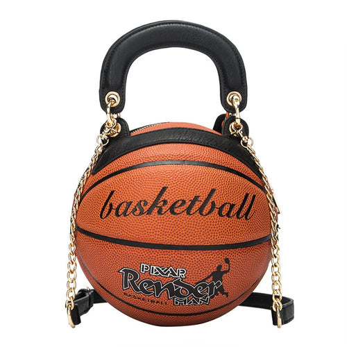 Fashion Basketball Shape  Chain Bag