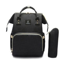 Load image into Gallery viewer, Waterproof Diaper Bag Backpack with USB port