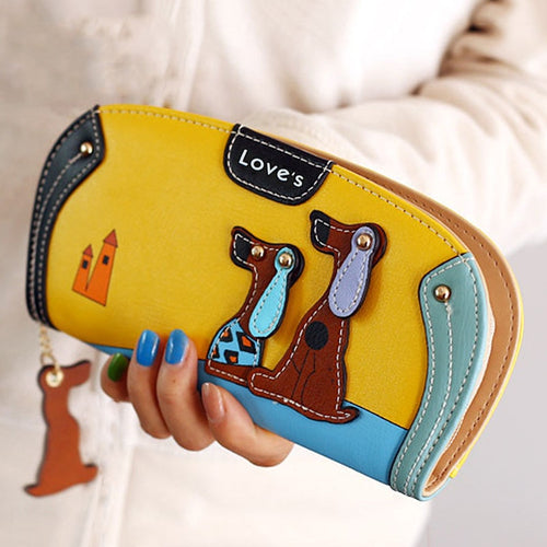 2 Dachshunds Women Wallet - Purse for Women