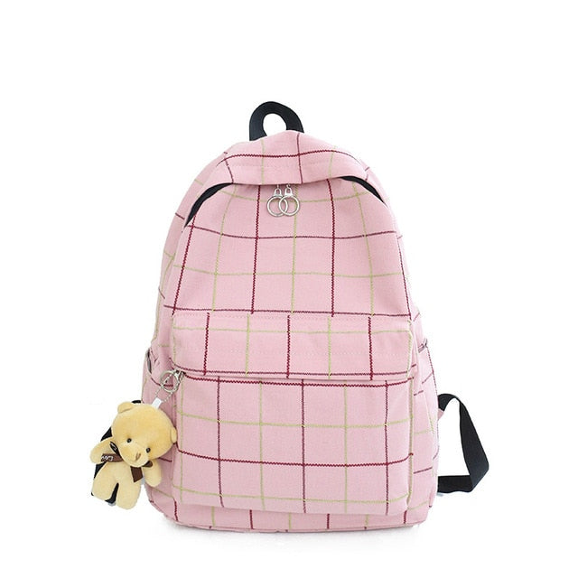 Canvas Casual School Backpack