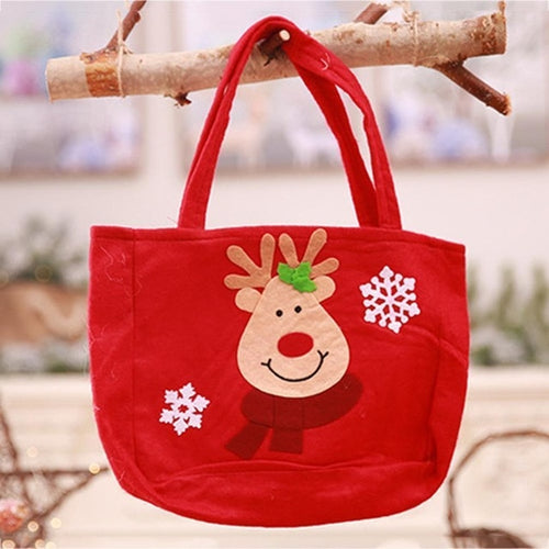 Cute Christmas Deer Gift Bag