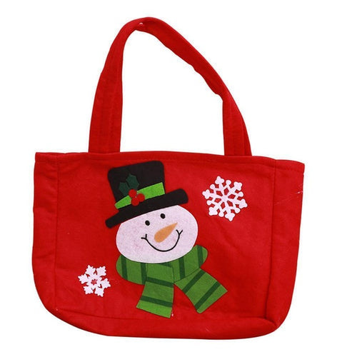 Cute Christmas Snowman Gift Bag