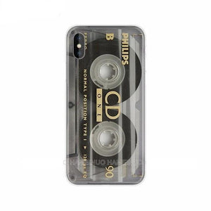 RETRO Cassette Tape Phone Case for all iPhone Models