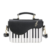 Load image into Gallery viewer, Piano Leather Handbag