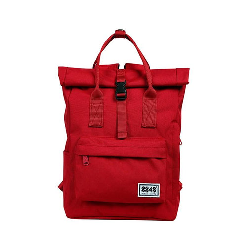 Canvas Roll Down Backpack