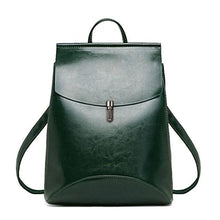 Load image into Gallery viewer, Fashion Women Leather Backpack