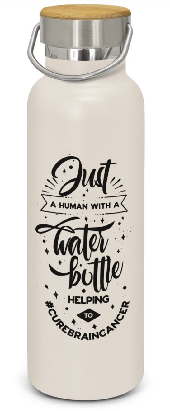 'Just A Human' Drink bottle