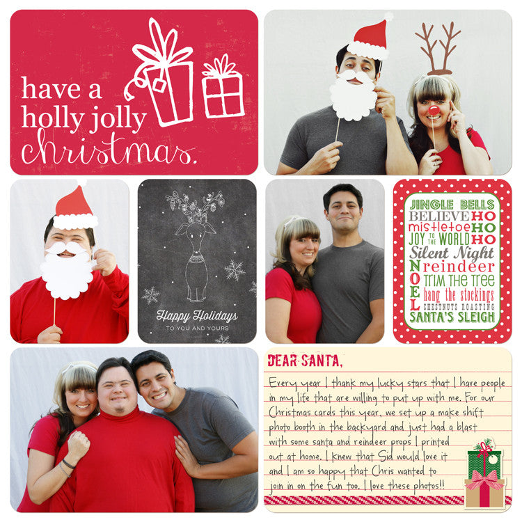 Digital Project Life FREE Holiday Scrapbook Filler Cards ...