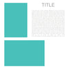 Project Life Editorial Templates Set 2A