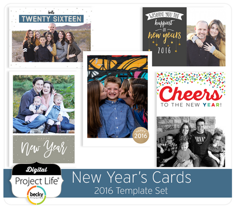 2016 New Year's Cards